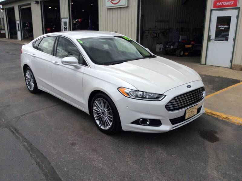 2015 Ford Fusion for sale at TRI-STATE AUTO OUTLET CORP in Hokah MN