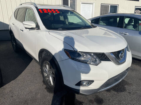 2014 Nissan Rogue for sale at BELOW BOOK AUTO SALES in Idaho Falls ID