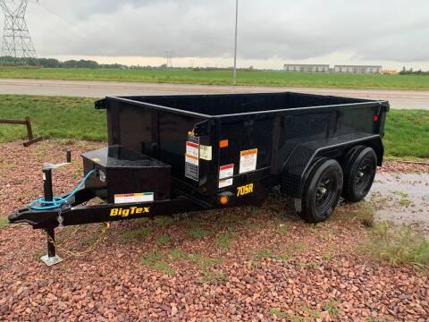 2022 Big Tex 70SR-10 Dump Box #7491 for sale at Prairie Wind Trailers, LLC in Harrisburg SD