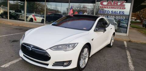 2013 Tesla Model S for sale at Carz Unlimited in Richmond VA