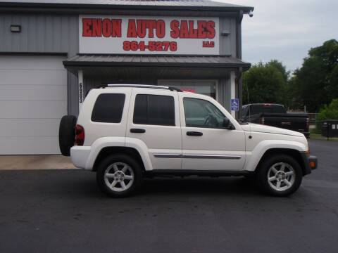 2005 Jeep Liberty for sale at ENON AUTO SALES in Enon OH