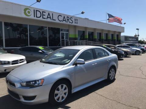 2013 Mitsubishi Lancer for sale at Ideal Cars Apache Trail in Apache Junction AZ