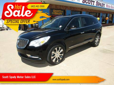 2017 Buick Enclave for sale at Scott Spady Motor Sales LLC in Hastings NE