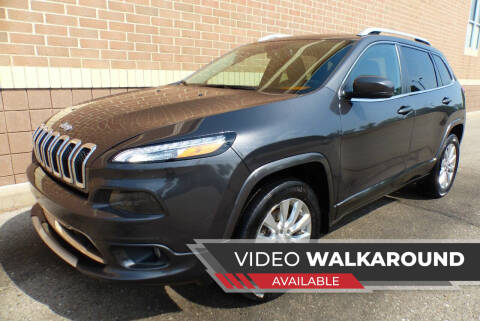 2018 Jeep Cherokee for sale at Macomb Automotive Group in New Haven MI