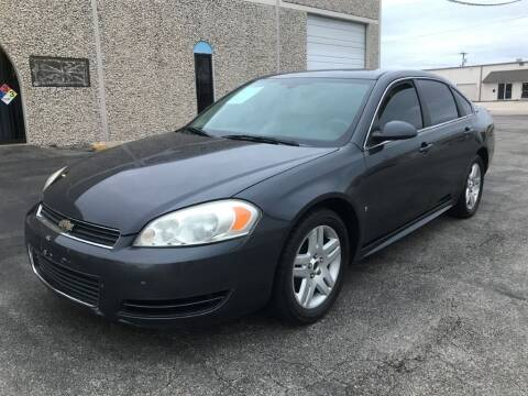 2009 Chevrolet Impala for sale at Evolution Motors LLC in Dallas TX