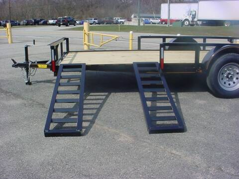 "2021 Reiser 77""x 12' ATV Side Utility for sale at S. A. Y. Trailers in Loyalhanna PA"