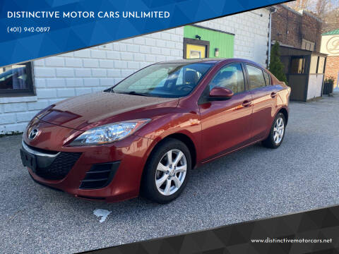 2010 Mazda MAZDA3 for sale at DISTINCTIVE MOTOR CARS UNLIMITED in Johnston RI