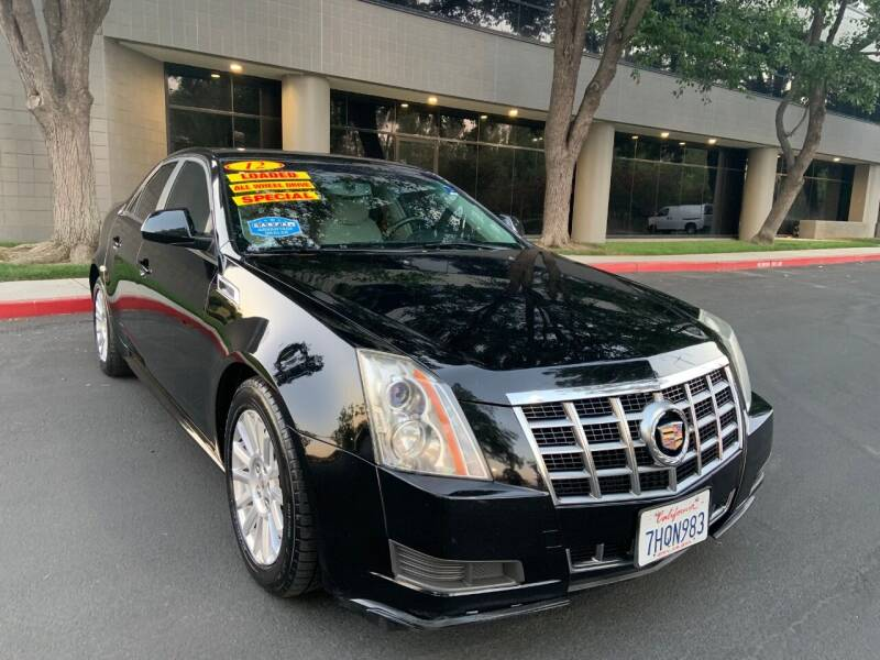 2012 Cadillac CTS for sale at Right Cars Auto Sales in Sacramento CA