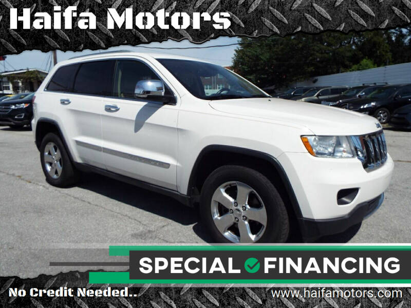 2011 Jeep Grand Cherokee for sale at Haifa Motors in Philadelphia PA