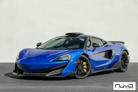 2019 McLaren 600LT for sale at Nuvo Trade in Newport Beach CA