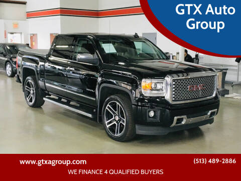 2015 GMC Sierra 1500 for sale at GTX Auto Group in West Chester OH