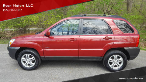 2005 Kia Sportage for sale at Ryan Motors LLC in Warsaw IN