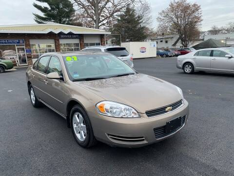 2007 Chevrolet Impala for sale at Michaels Motor Sales INC in Lawrence MA