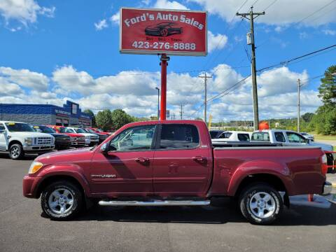 2006 Toyota Tundra for sale at Ford's Auto Sales in Kingsport TN