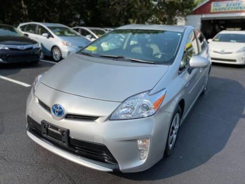 2012 Toyota Prius for sale at 1A Auto Sales in Walpole MA