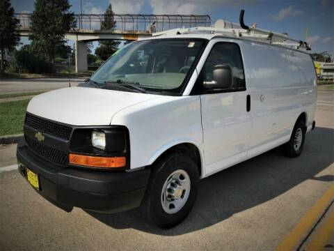 2011 Chevrolet Express Cargo for sale at SARCO ENTERPRISE inc in Houston TX