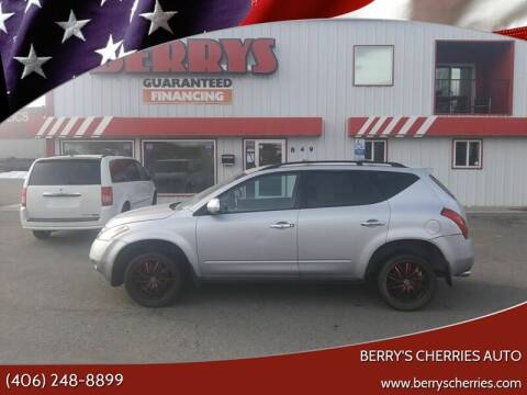 2007 Nissan Murano for sale at Berry's Cherries Auto in Billings MT