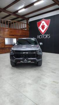 2021 Chevrolet Tahoe for sale at A & V MOTORS in Hidalgo TX