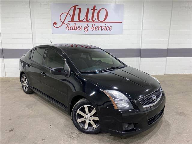 2012 Nissan Sentra for sale at Auto Sales & Service Wholesale in Indianapolis IN