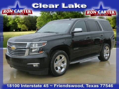 2015 Chevrolet Tahoe for sale at Ron Carter  Clear Lake Used Cars in Houston TX