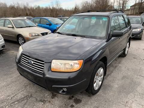2008 Subaru Forester for sale at Best Buy Auto Sales in Murphysboro IL
