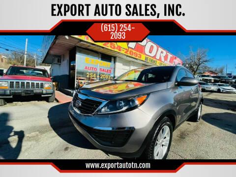 2013 Kia Sportage for sale at EXPORT AUTO SALES, INC. in Nashville TN