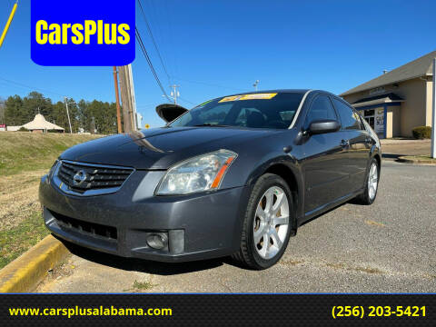 2008 Nissan Maxima for sale at CarsPlus in Scottsboro AL