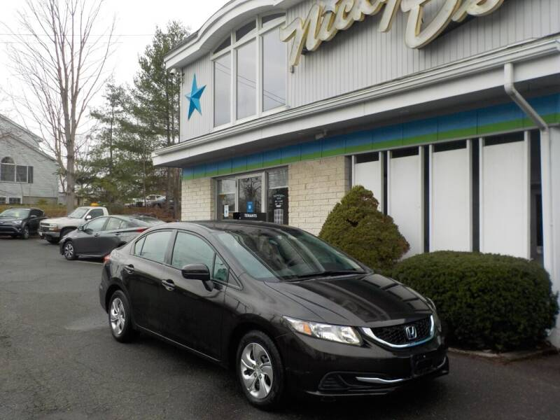 2014 Honda Civic for sale at Nicky D's in Easthampton MA