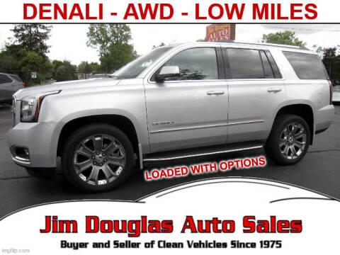 2016 GMC Yukon for sale at Jim Douglas Auto Sales in Pontiac MI