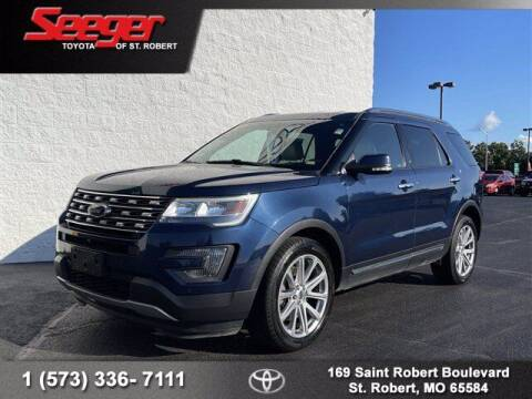 2016 Ford Explorer for sale at SEEGER TOYOTA OF ST ROBERT in Saint Robert MO