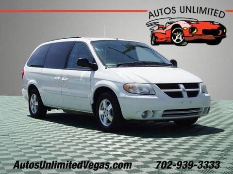 2006 Dodge Grand Caravan for sale at Autos Unlimited in Las Vegas NV