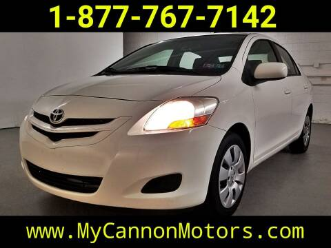 2008 Toyota Yaris for sale at Cannon Motors in Silverdale PA