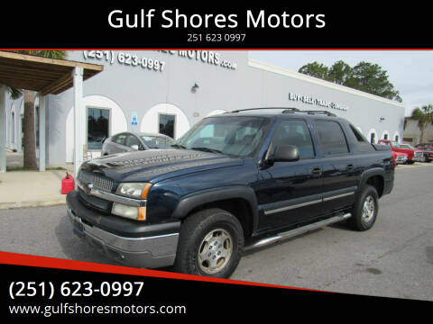 2004 Chevrolet Avalanche for sale at Gulf Shores Motors in Gulf Shores AL