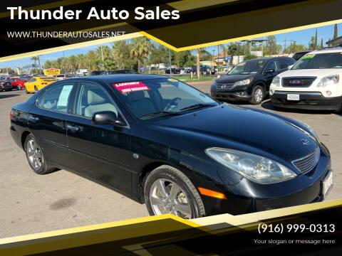 2006 Lexus ES 330 for sale at Thunder Auto Sales in Sacramento CA