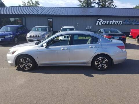 2009 Honda Accord for sale at ROSSTEN AUTO SALES in Grand Forks ND