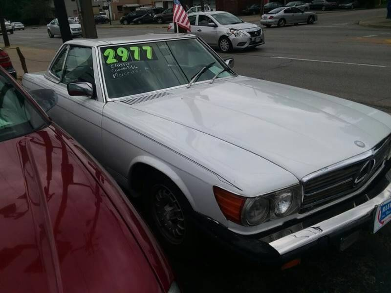1981 Mercedes-Benz 380-Class for sale at Klein on Vine in Cincinnati OH