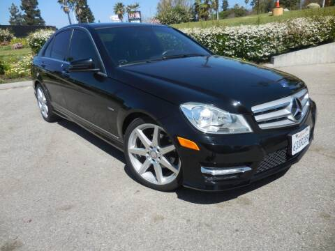 2012 Mercedes-Benz C-Class for sale at ARAX AUTO SALES in Tujunga CA