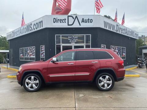 2012 Jeep Grand Cherokee for sale at Direct Auto in D'Iberville MS