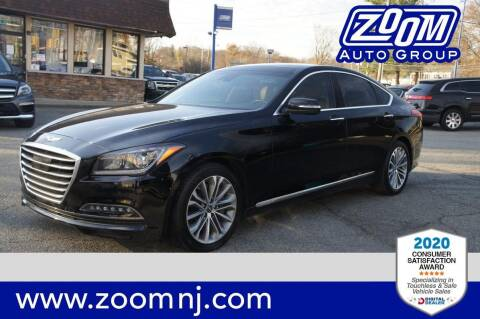 2016 Hyundai Genesis for sale at Zoom Auto Group in Parsippany NJ