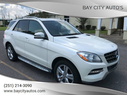 2013 Mercedes-Benz M-Class for sale at Bay City Auto's in Mobile AL