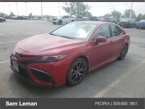 2021 Toyota Camry for sale at Sam Leman Chrysler Jeep Dodge of Peoria in Peoria IL