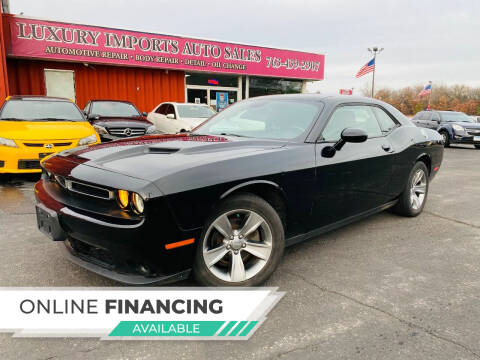 2016 Dodge Challenger for sale at LUXURY IMPORTS AUTO SALES INC in North Branch MN