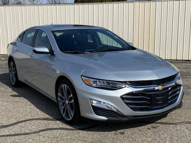 2020 Chevrolet Malibu for sale at Miller Auto Sales in Saint Louis MI