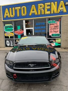2014 Ford Mustang for sale at Auto Arena in Fairfield OH