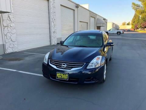 2010 Nissan Altima for sale at APOLLO AUTO SALES in Sacramento CA