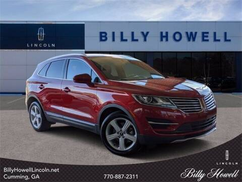 2018 Lincoln MKC for sale at BILLY HOWELL FORD LINCOLN in Cumming GA
