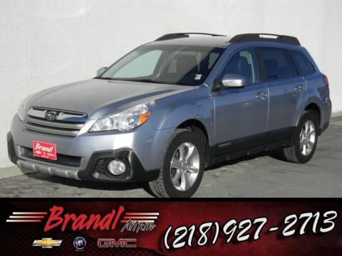 2014 Subaru Outback for sale at Brandl GM in Aitkin MN