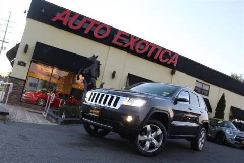 2013 Jeep Grand Cherokee for sale at Auto Exotica in Red Bank NJ