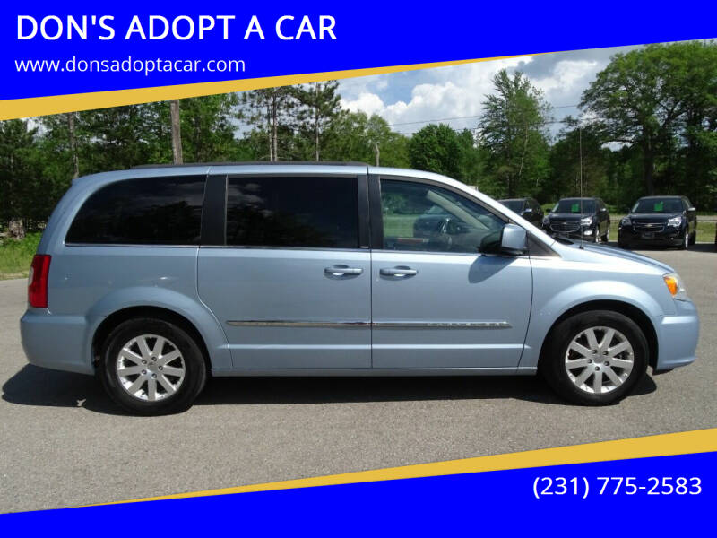 2013 Chrysler Town and Country for sale at DON'S ADOPT A CAR in Cadillac MI