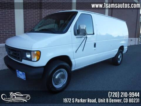 2003 Ford E-Series Cargo for sale at SAM'S AUTOMOTIVE in Denver CO